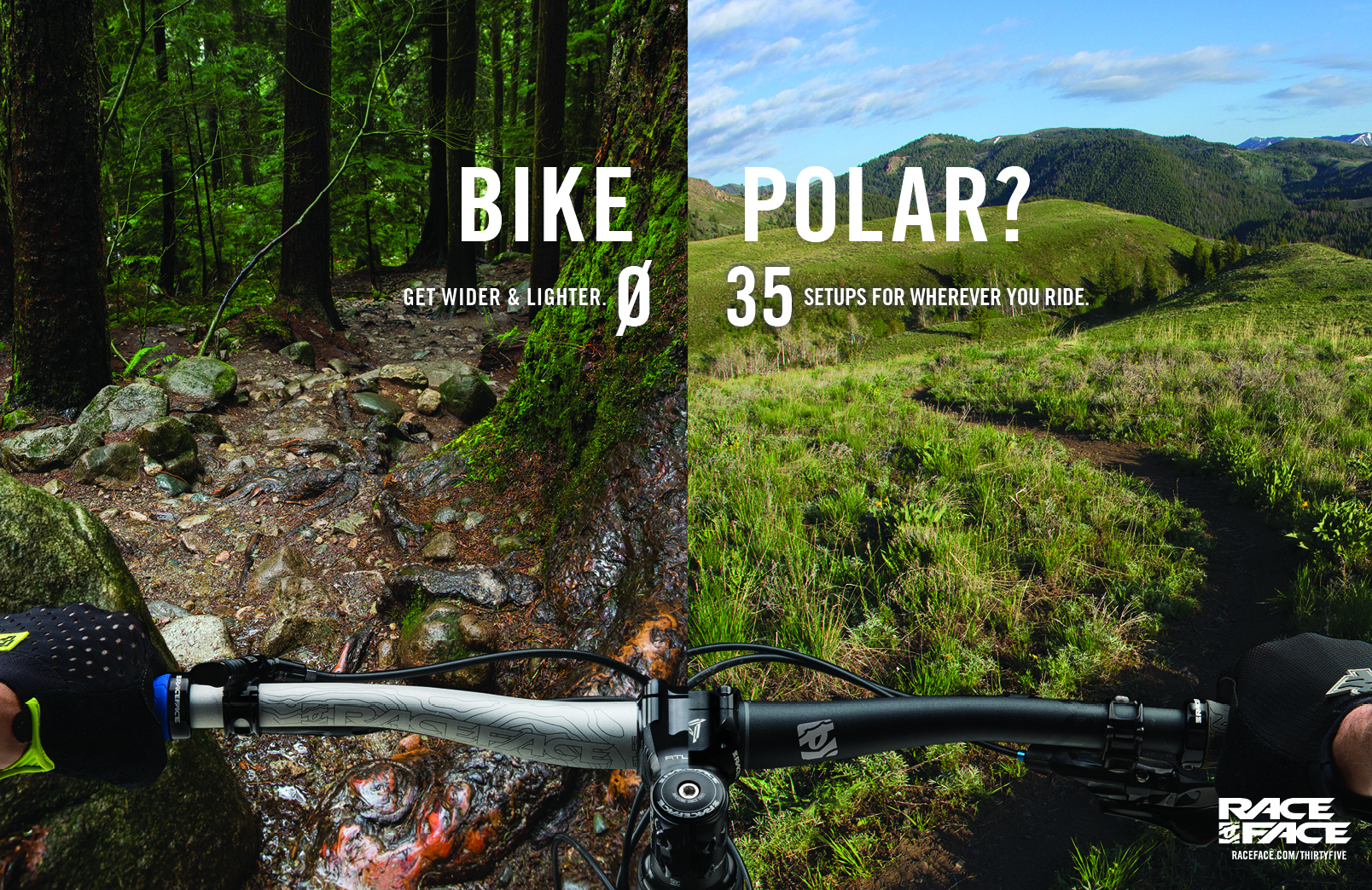 Bike Polar Print Ad