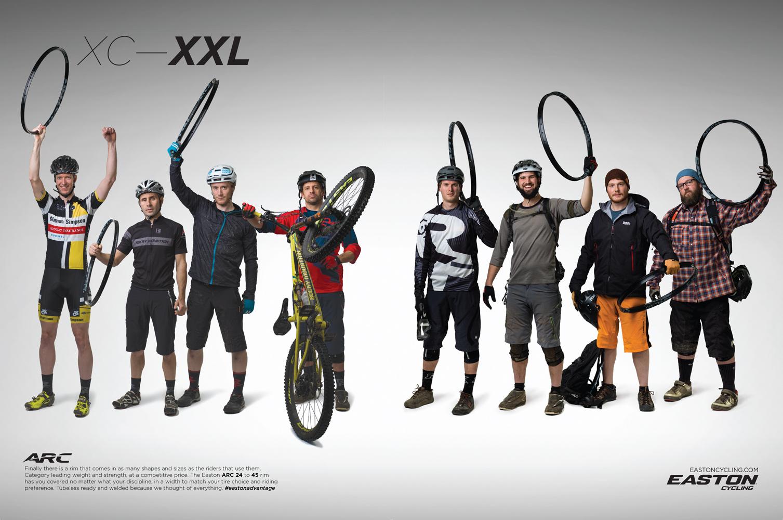XC-XXL Print Ad