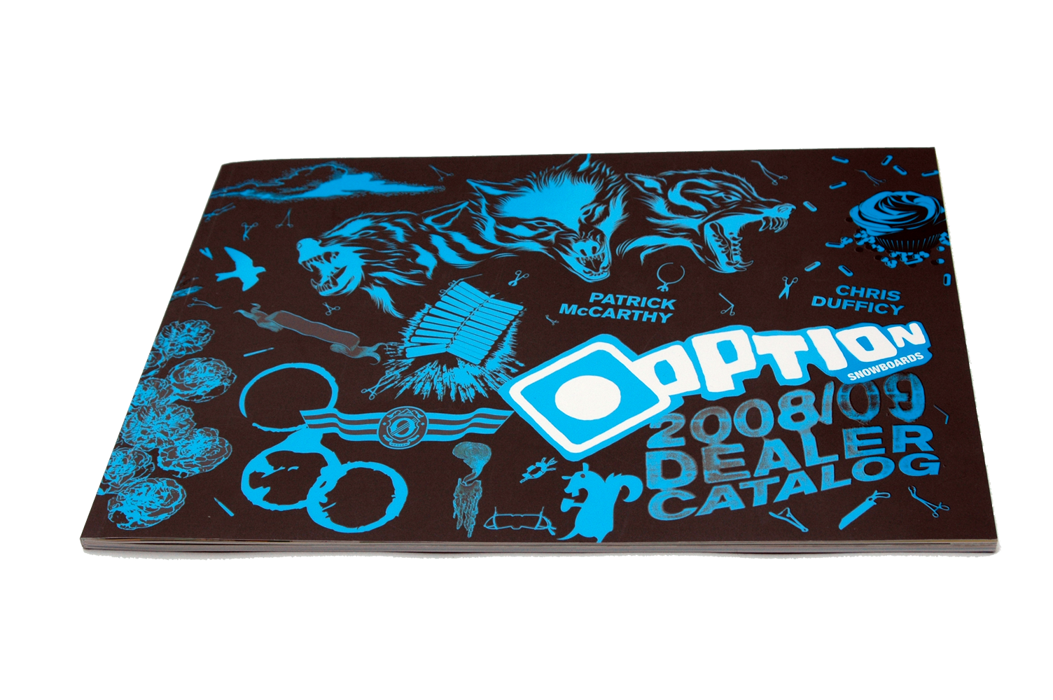 2008 Option Snowboards Buyers Catalog
