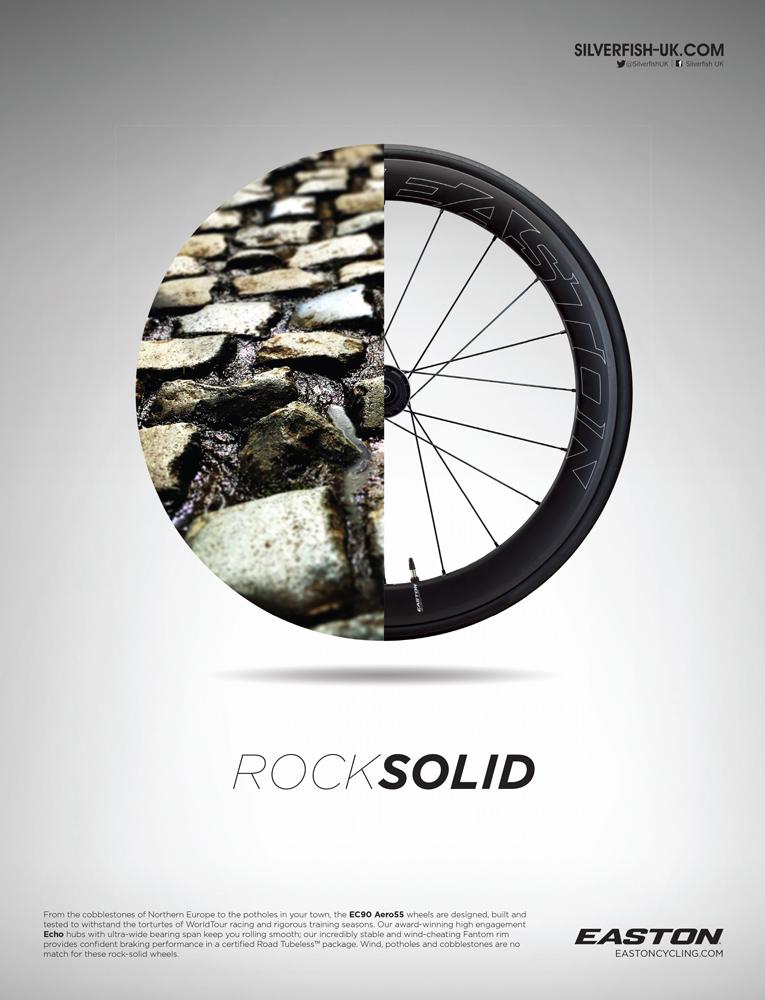 Rock Solid Print Ad