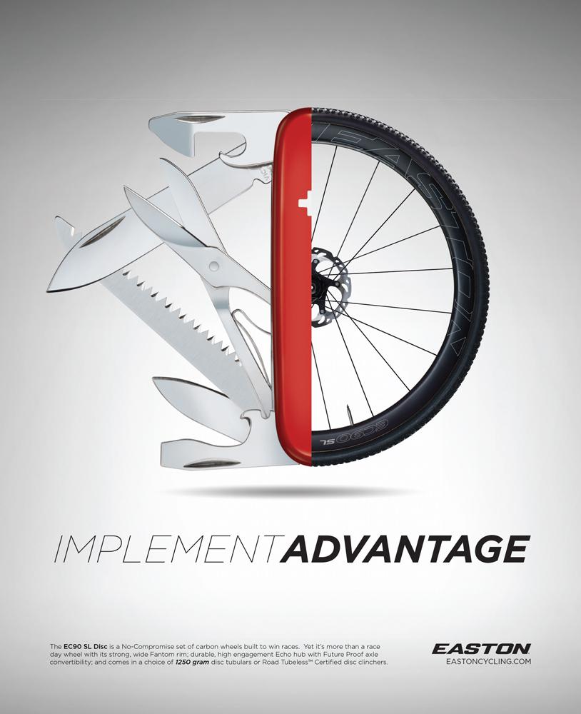 Implement Advantge Print Ad