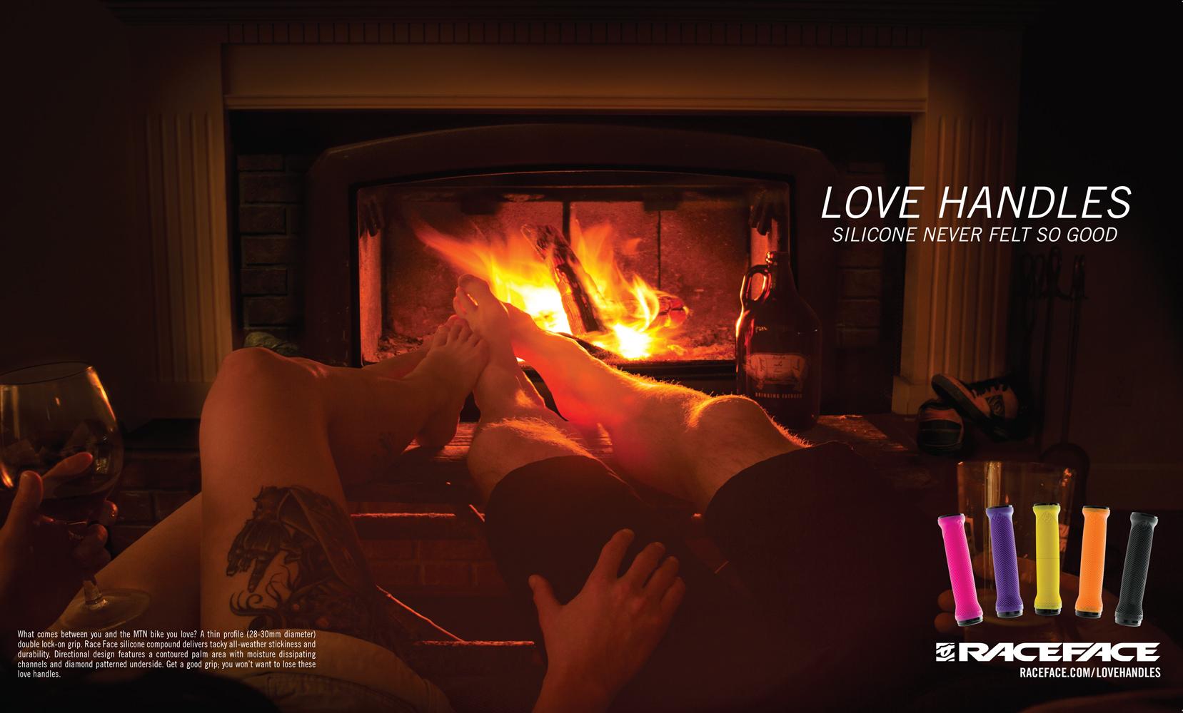 Love Handles Print Ad