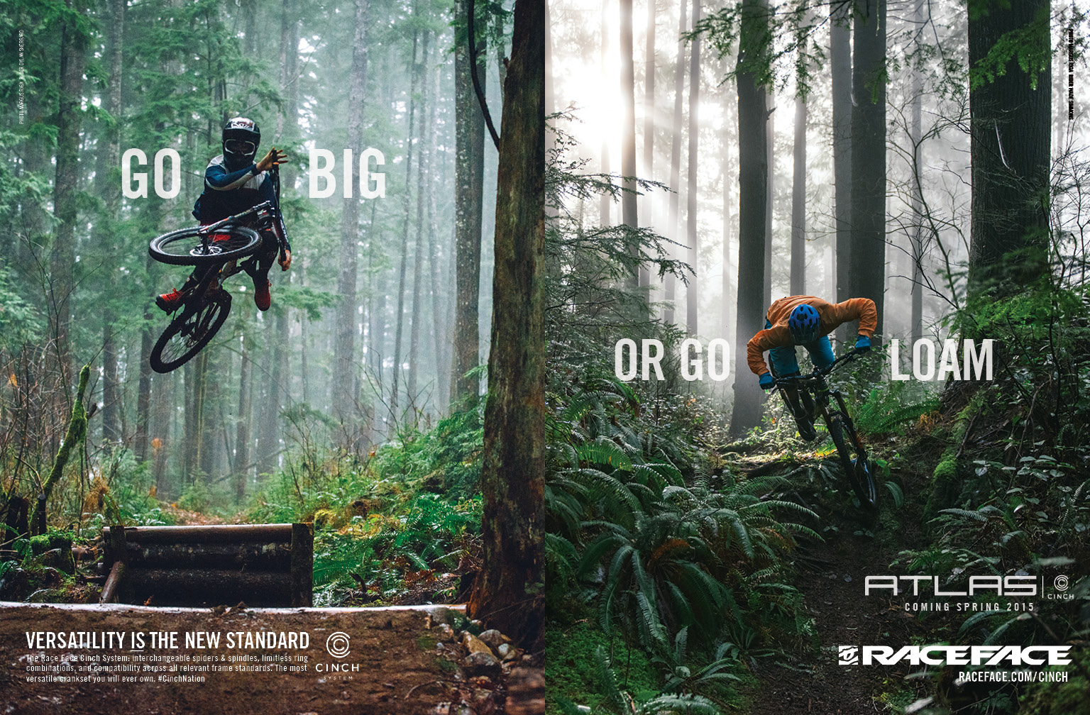 Go Big or Go Loam Print Ad