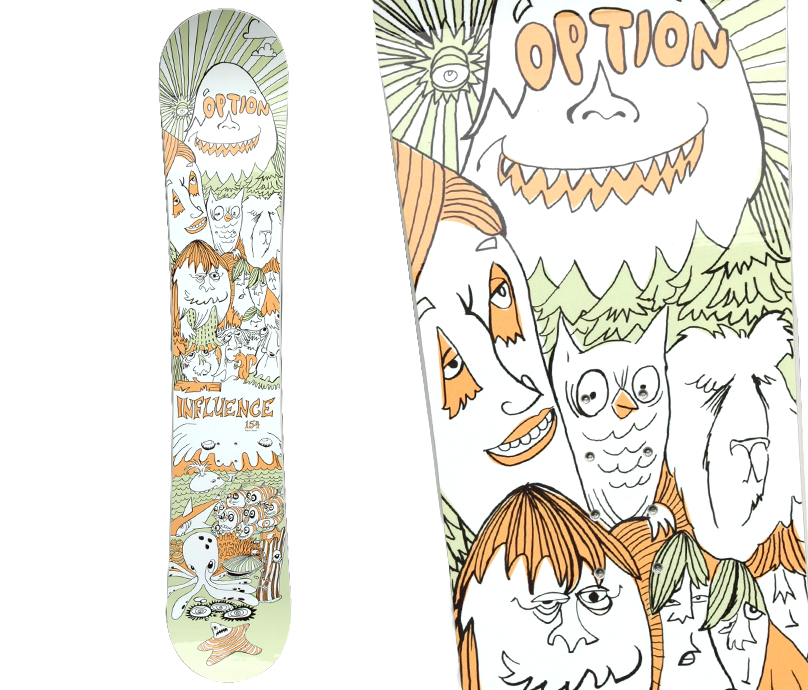 Option Snowboards: The Influence