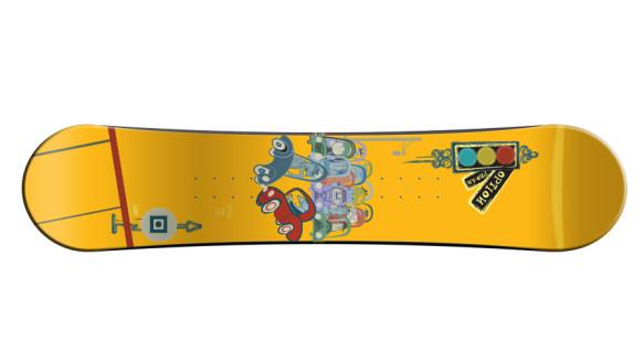 Pro-Am Snowboard